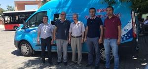 MASKİ'nin mobil tahsilat aracı Kırkağaç'ta