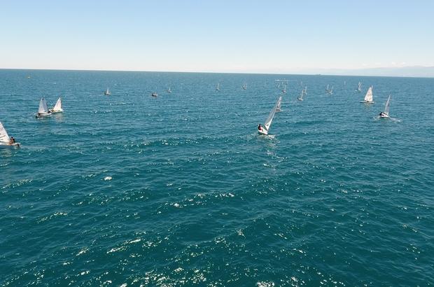 Sinop'ta 15 Temmuz yelken yarışları