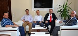 Milletvekili Eldemir, Bozüyük'te temaslarda bulundu