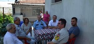 Kaymakam Demirkale'den 15 Temmuz gazisine ziyaret