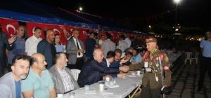 İskenderun'da demokrasi nöbeti başladı