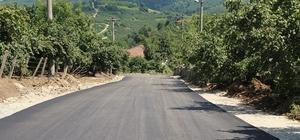 Karasu'da asfalt çalışmaları devam ediyor