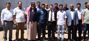 Kaymakam Çimşit'ten 15 Temmuz Gazilerine Ziyaret