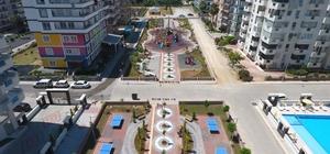 Mahmutlar Mahallesi'ne 3 farklı konseptli kırlangıç parkı
