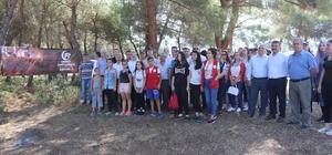 Akhisar'da 15 Temmuz şehitleri hatıra ormanına bakım