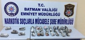 Batman'da iki şahıs üzerinde uyuşturucu madde ele geçirildi