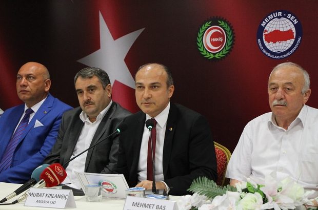 Amasya'daki STK'lardan 15 Temmuz açıklaması: