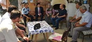 Gediz protokolü 15 Temmuz Gazisinin ailesini ziyaret etti