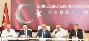 Trabzon'daki STK'lar 15 Temmuz için ortak açıklama yaptılar