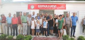 Mezitli Belediyesi, gönüllü evlerine bir yenisini daha ekledi