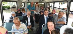 Semt pazarlarına ücretsiz ring otobüsü