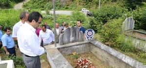Çayeli'nde şehitler mezarları başında anıldı