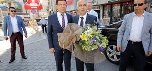 Vali Hasan Karahan'dan Başkan Subaşıoğlu'na ziyaret
