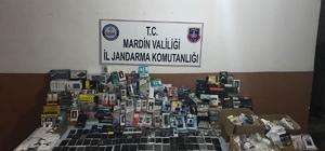 Mardin'de kaçakçılık operasyonu