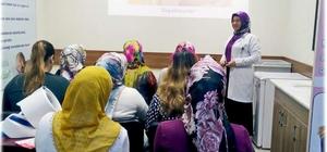 Adıyaman'da 6 bin 972 anne adayına gebelik eğitimi veriliyor