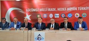 """Erzurum'da STK'lardan ortak açıklama:""""15 Temmuz'u unutmayacağız, unutturmayacağız"""""""