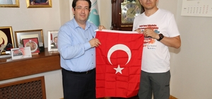 Başkan Yazgı'ya Bursa'dan ziyaret