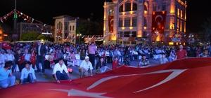 Aksaray'da 15 Temmuz anma etkinliği sürüyor