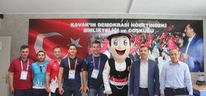 Sarıcaoğlu'ndan Çakır'la olimpiyatlara davet