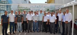 Başkan Bakıcı Türk Metal İş Sendikası yönetici ve üyeleri ile bir araya geldi