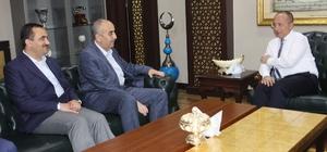 İHA Genel Müdürü Arvas, Siirt Valisi Atik'i ziyaret etti