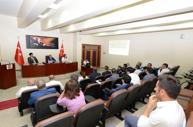 Tunceli'de koordinasyon kurulu toplantısı