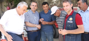 Tosya'da 4 köye Yangın Söndürme tankeri verildi