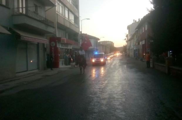 Kastamonu'da 800 araçlık demokrasi konvoyu