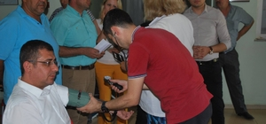 15 Temmuz şehitleri anısına kan bağışı