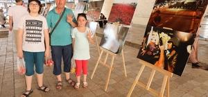Körfez'de 15 Temmuz konulu fotoğraf sergisi açıldı