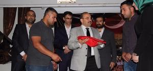 Bitlis'ten Cumhurbaşkanlığına Türk bayrağı