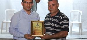MİDDER'den Ayhan'a onursal üyelik belgesi