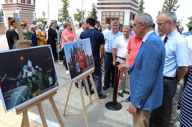 """İHA'nın """"Oradaydık, unutmadık, unutturmadık"""" adlı fotoğraf sergisi Rize'de açıldı"""