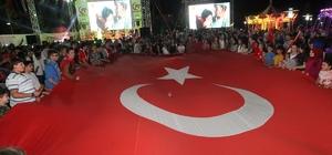 Gebze'de demokrasi nöbeti sürüyor