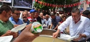 15 Temmuz şehitleri için etli pilav ikramı