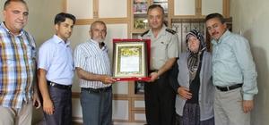 Ahmet Erol'un şehitlik beratı ailesine verildi