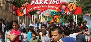 """Başkale'de şehitler anısına parka """"Park 250"""" ismi verildi"""