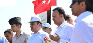 Erbaa'da protokolünden şehit ailesine ziyaret
