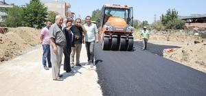 Başkan Çerçioğlu, Germencik'te çalışmaları yerinde inceledi