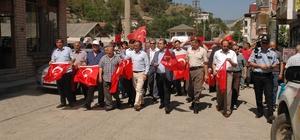 Hanönü İlçesinde 15 Temmuz Demokrasi Yürüyüşü yapıldı