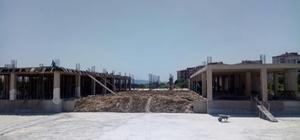 İlimtepe ve kampüs inşaatı ilerliyor