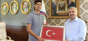 Ömer Halisdemir'in kardeşinden Başkan Baran'a ziyaret