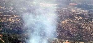 Bozdoğan'da 1 hektar makilik alan zarar gördü
