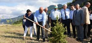 Şehit Ömercan Açıkgöz Hatıra Ormanı açıldı
