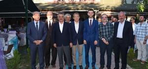 Dursunbey Belediye Başkanı Bahçavan'ın mutlu günü