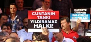 """Kahramanmaraşlı STK'lar: """"15 Temmuz bir milletin yeniden doğduğu gündür"""""""