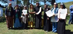 Arı Sütü Eğitimini Tamamlayan Kadınlara Sertifika