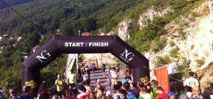 Bursa'da 'Uludağ Ultra Maratonu' koşusu renkli görüntülere sahne oldu
