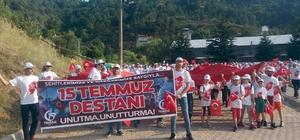 Simav'da 'Demokrasi ve Özgürlükler Günü' yürüyüşü