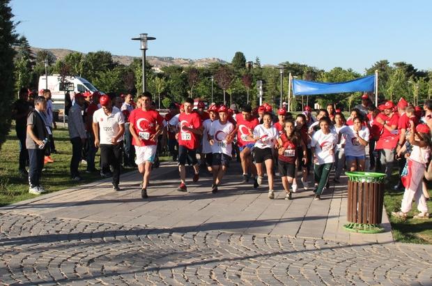 Elazığ'da 15 Temmuz koşusu